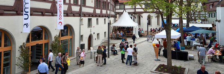 Stadt blaubeuren am blautopf altstadt for Fachwerk bildung