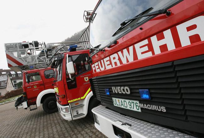 Fahrzeuge der Feuerwehr Blaubeuren