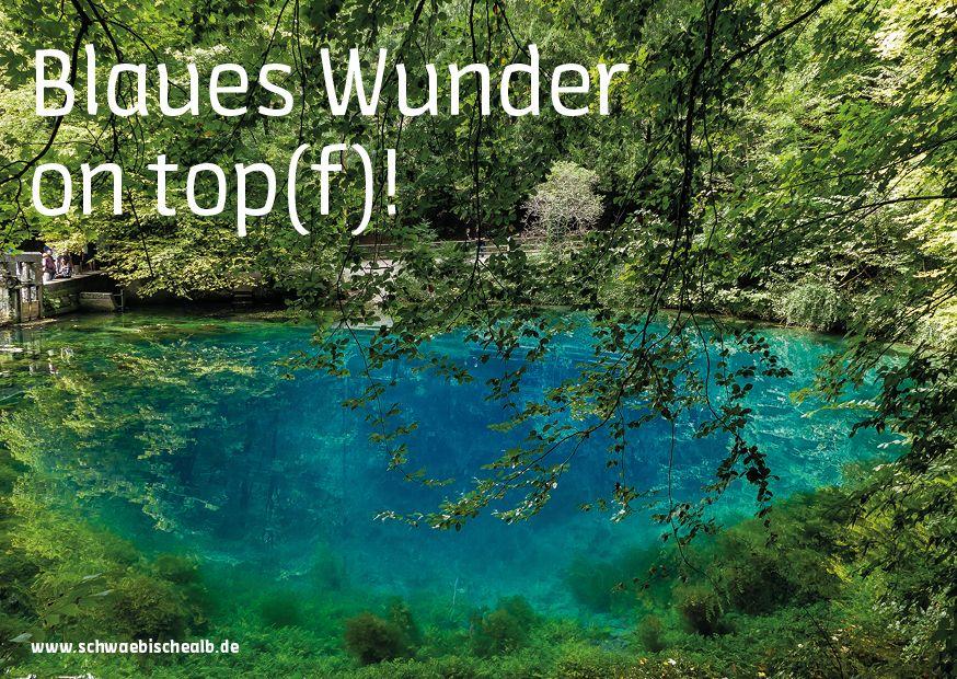 Blautopf Blaues Wunder: Fotograf Jürgen Schmitt