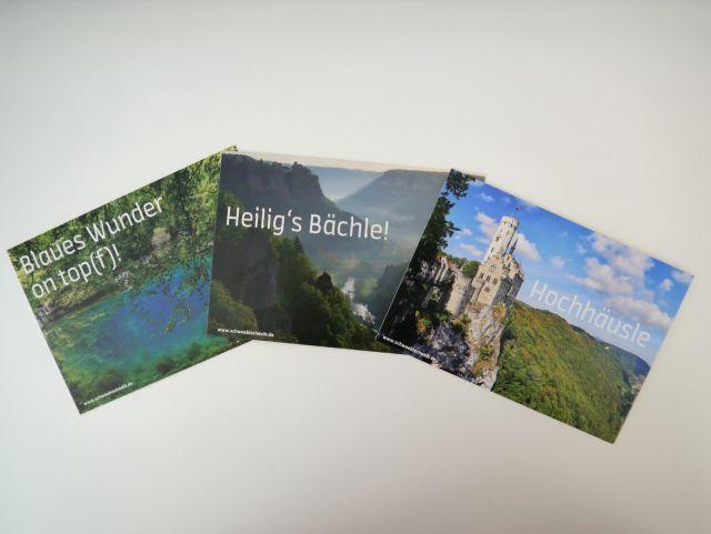Postkarten Schwäbische Alb: Foto Schwäbische Alb Tourismus