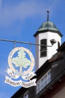 HP Grüner Baum Schild