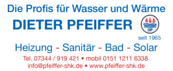 Heizung Pfeiffer Logo