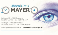Logo Uhren Mayer