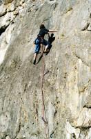Klettern im Blautal