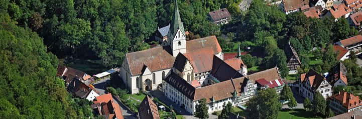 Die Klosteranlage in Blaubeuren