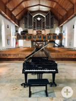 Flügel in der Kirche