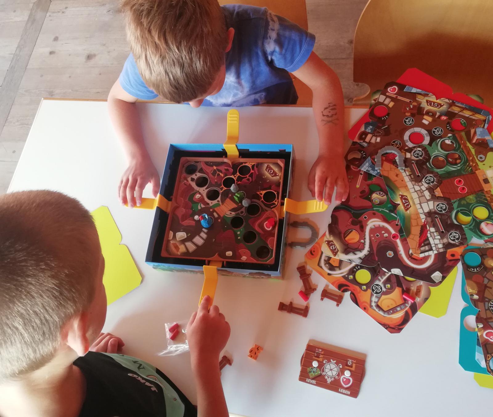 Spielenachmittag der Stadtbücherei