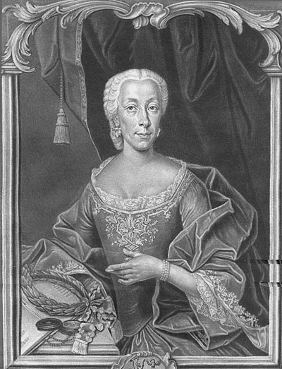 Portrait Magdalena Sybilla Rieger