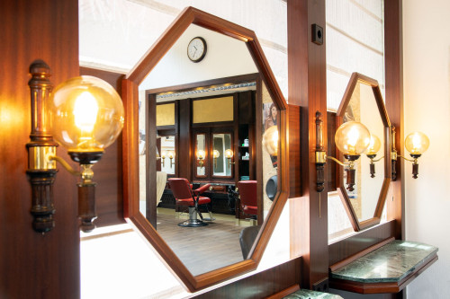 Harry Spiegelaufnahmen mit Stuhlspiegelung