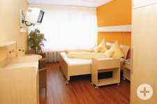 Zimmer im Gesundheitszentrum