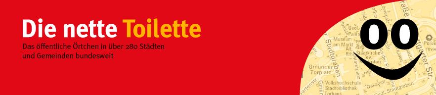 Banner Nette Toilette